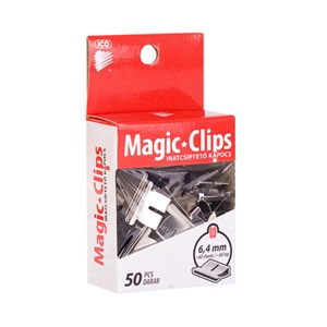 Iratcsipesz Ico Magic Clip 6.4 mm   -i