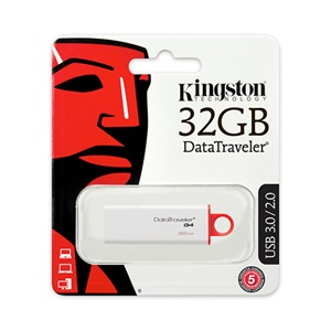 Kingston 32GB piros pendrive