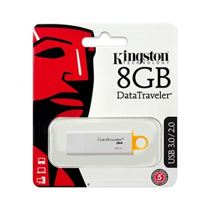 Kingston 8GB sárga pendrive