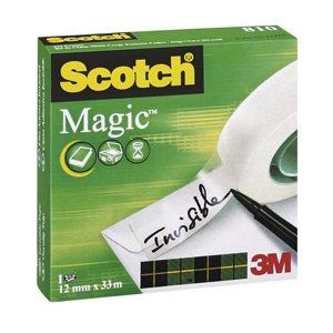 Ragasztószalag 3M Scotch Magic Tape 12 mm x 33 m matt 810-1233